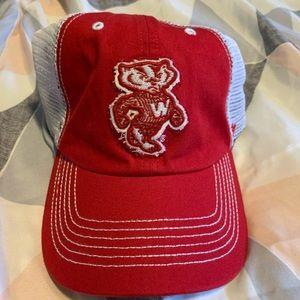 Bucky Badger Wisconsin Hat - Never Worn